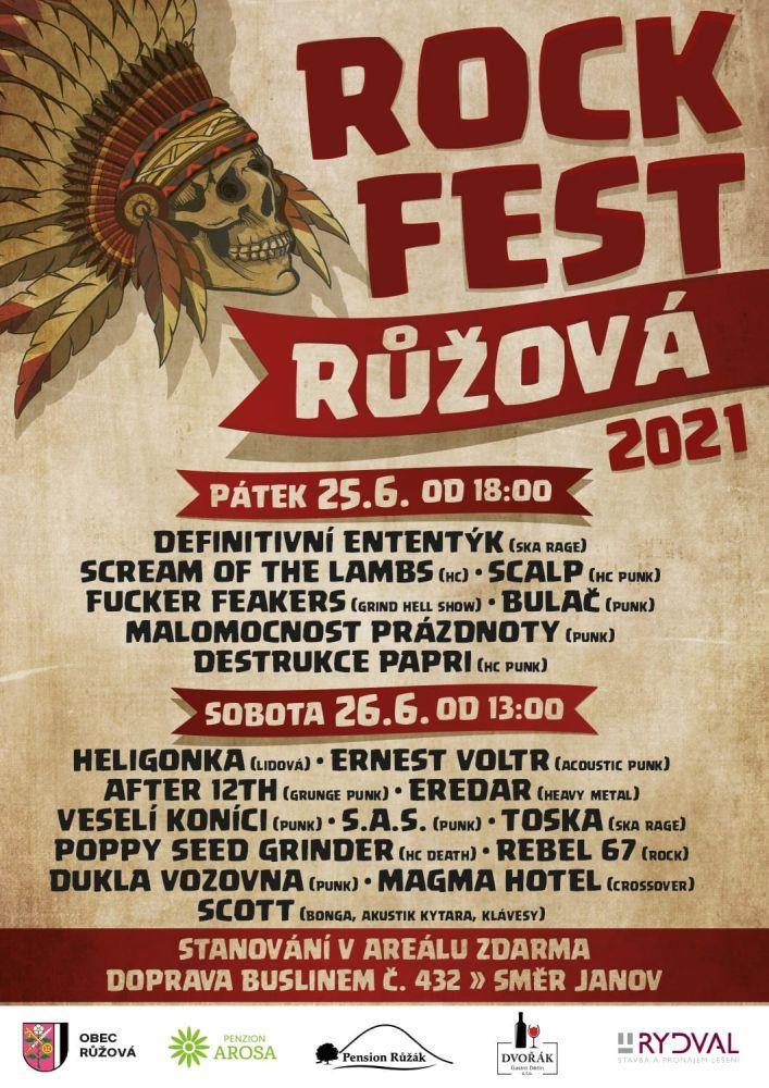 Rockfest Růžová 2021