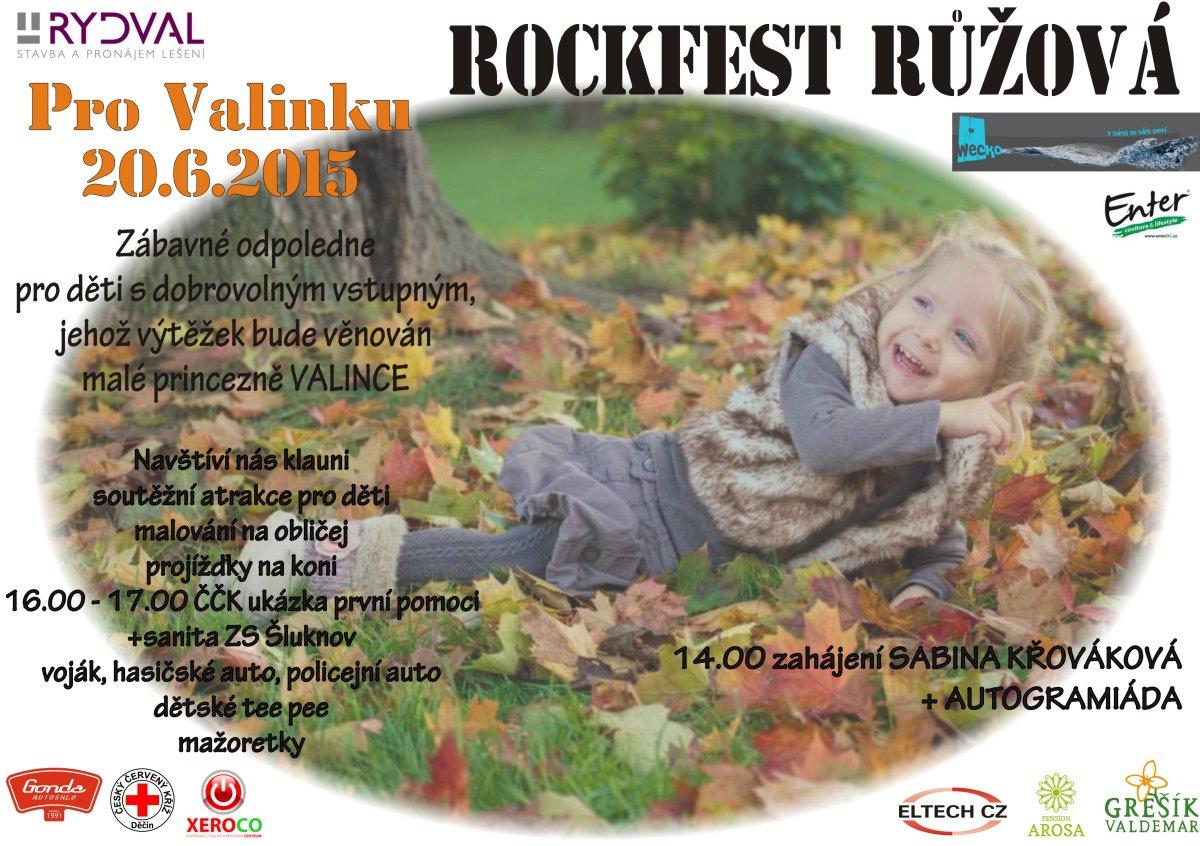 Pro Valinku - Rockfest Růžová